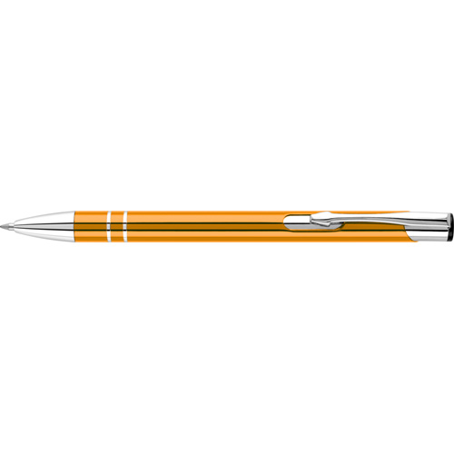Electra Ballpen (Full Colour Print) in orange