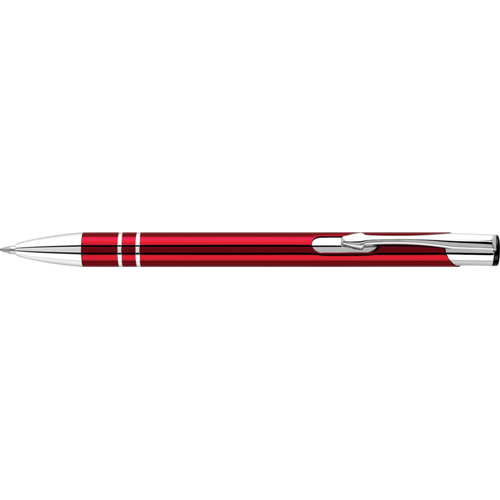 Electra Ballpen (Full Colour Print) in red