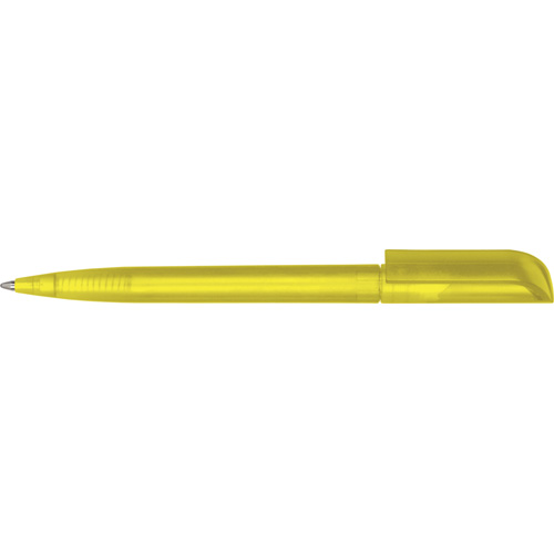 Espace Frost Ballpen (Pad Print) in frosted-yellow