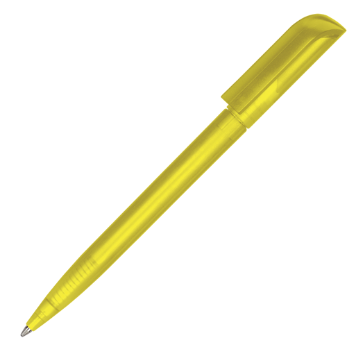 Espace Frost Ballpen (Pad Print) in yellow