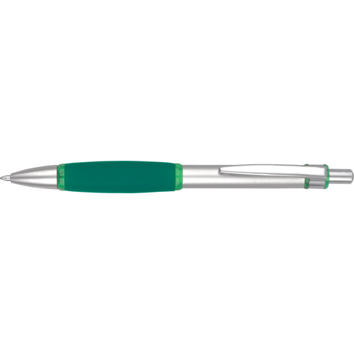 Iris Grip Metal Ballpen (With Box FB01) in green