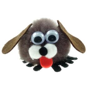 Personalised Fuzzy Dog Bug