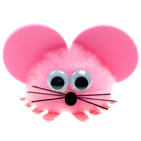 Personalised Fuzzy Mouse Bug