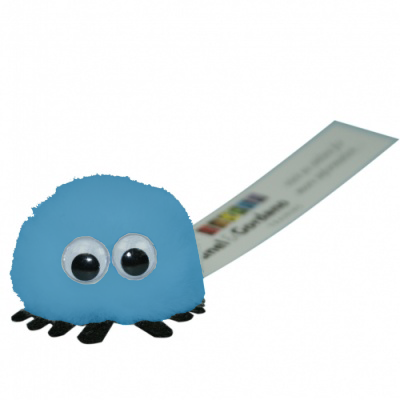 Branded Logo Standard Bug in process-blue