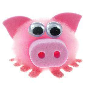 Personalised Fuzzy Pig Bug