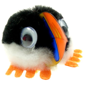 Promotional Message Puffin Bug