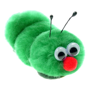Promotional Message CaterpillBug