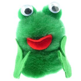 Printed Furry Frog Bug