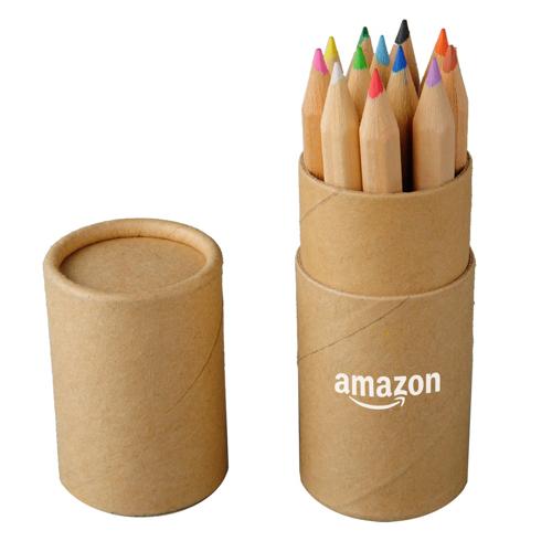 12 Piece 9cm Pencil Tube