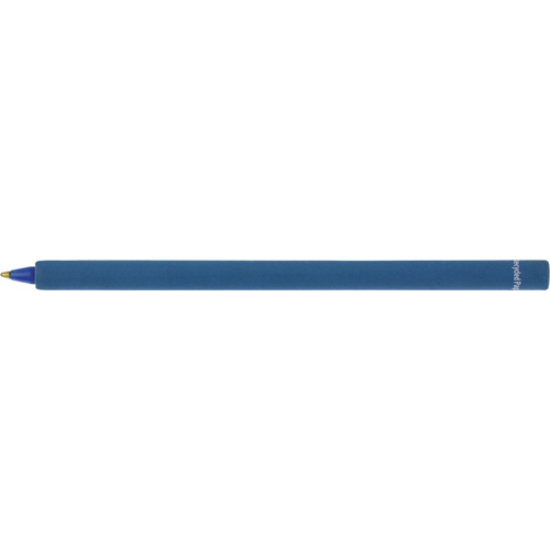 Eco - Recycled Paper Pen in blue
