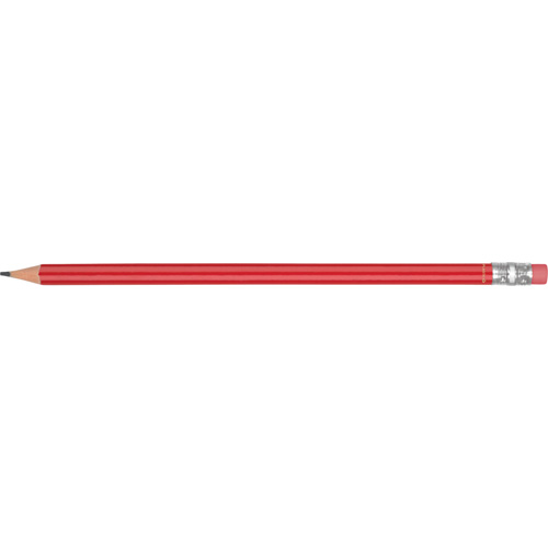 Recycled Plastic Pencil in red