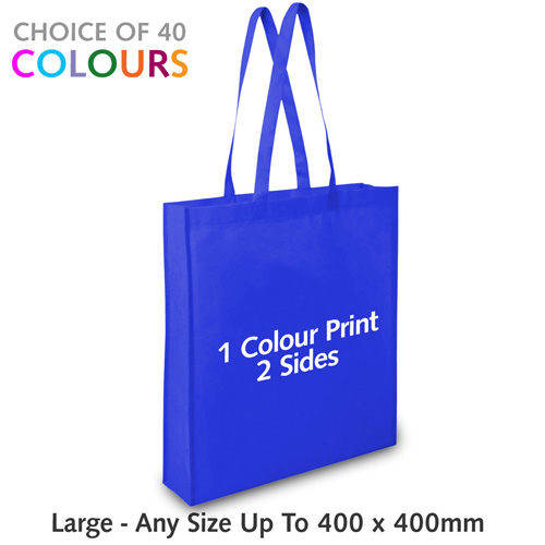 Non Woven Bag - Large With Gusset