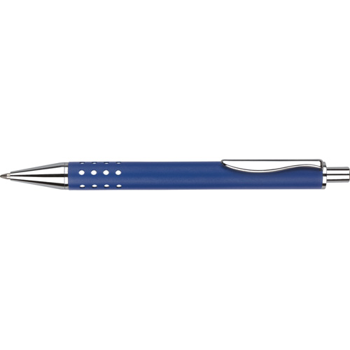 Techno Metal Ballpen (With Box FB01) in blue