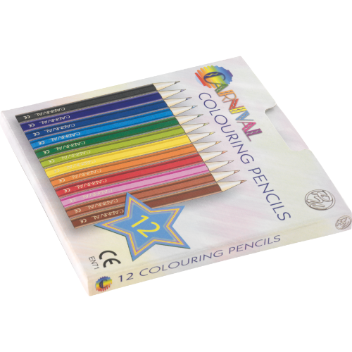 WP - Colouring Pencils Half Size (12 Piece)