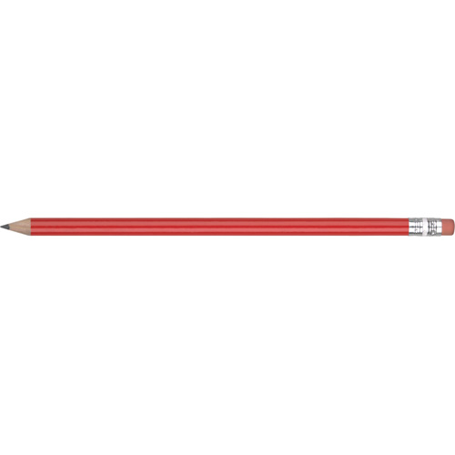 Eco - FSC Wooden Pencil in red