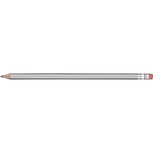 Eco - FSC Wooden Pencil in silver