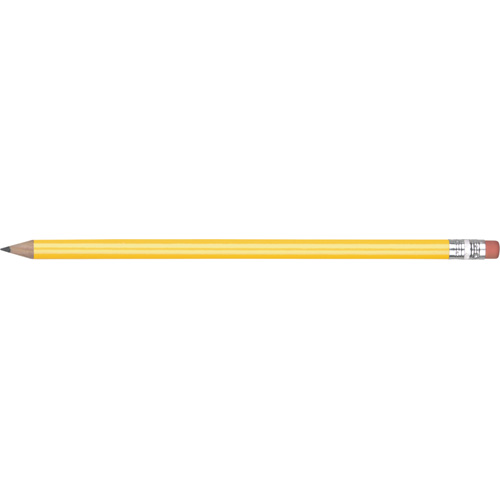 Eco - FSC Wooden Pencil in yellow