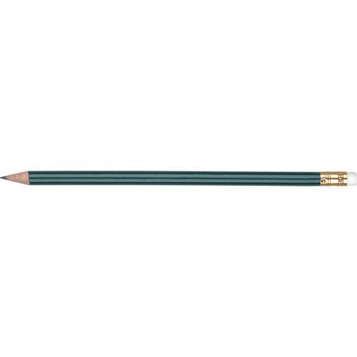 WP - ORO - Gold Ferrule & White Eraser in green