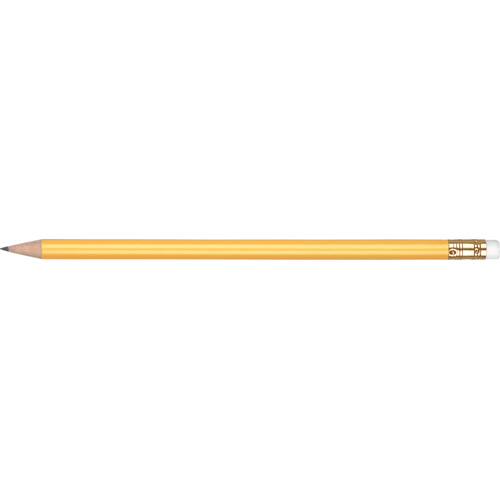 WP - ORO - Gold Ferrule & White Eraser in yellow