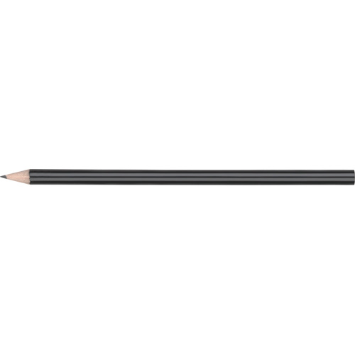 WP - STANDARD NE - No Eraser  Barrel (Round With Straight Cut End) in black