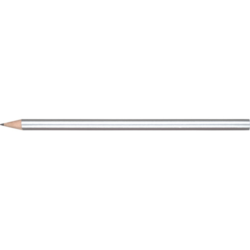 WP - STANDARD NE - No Eraser  Barrel (Round With Straight Cut End) in silver