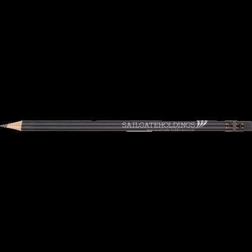 WP - SHADOW WE - Eraser (Black)  Ferrule (Black) Barrel (Round Matt Black)
