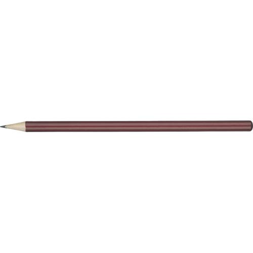 WP - HIBERNIA Pencil (Line Colour Print) in burgundy