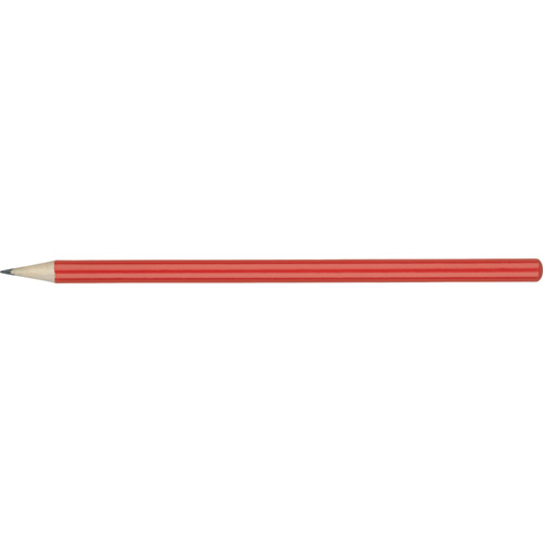 WP - HIBERNIA Pencil (Line Colour Print) in red