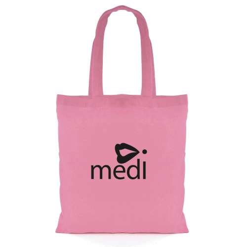 Budget Coloured Shopper in pink