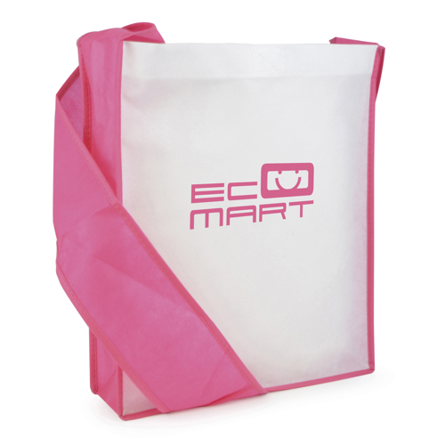 Contrast Messager Bag in pink