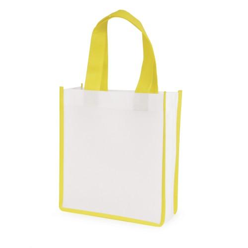 Mini Contrast Shopper in yellow