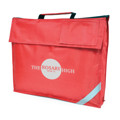 Jasmine School Bag in red
