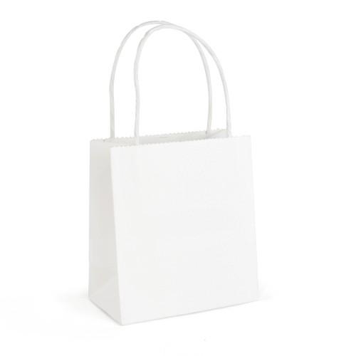 Brunswick Small White Paper Bags