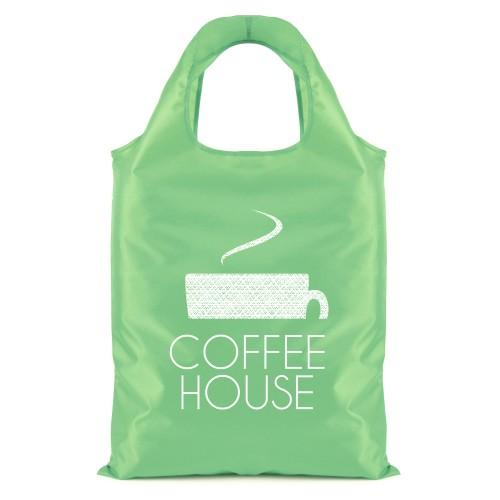 Eliss Foldable Shopper in green