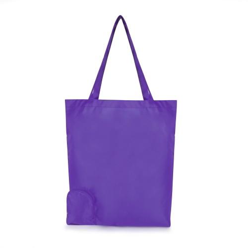Trafford Foldable Shopper in purple