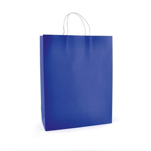 Ardville Large Paper Bag in blue