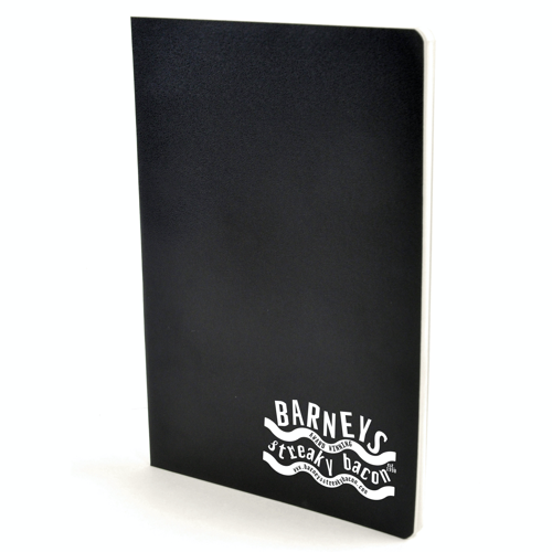 A5 Exercise Book in black