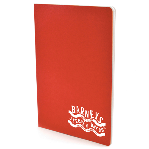 A5 Exercise Book in red