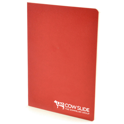 A6 Exercise Book in red