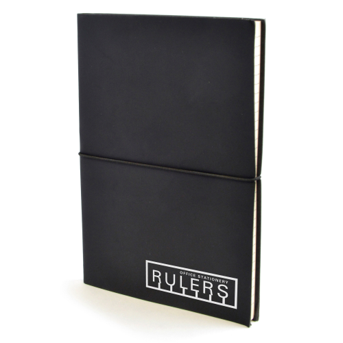 A5 Centre Notebook in black