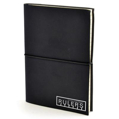 A6 Centre Notebook in black