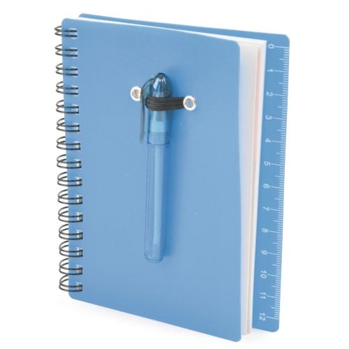 B7 Canopus Notebook in cyan