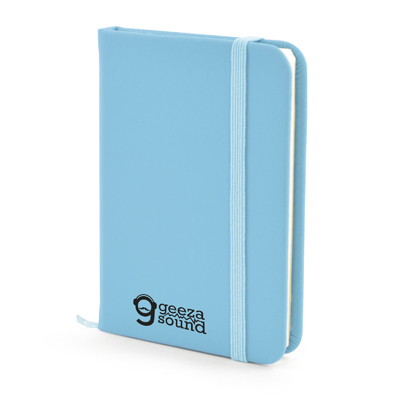 A7 Mole Notebook in cyan