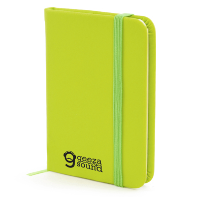 A7 Mole Notebook in green