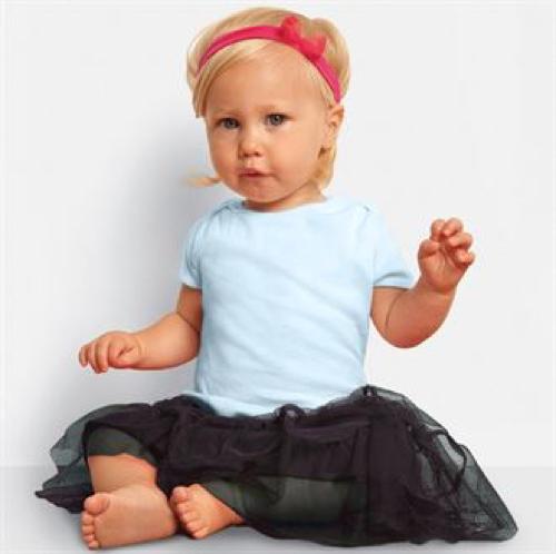 Short Sleeve Baby Rib T-Shirt