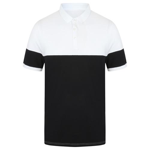Contrast Stretch Polo Shirt