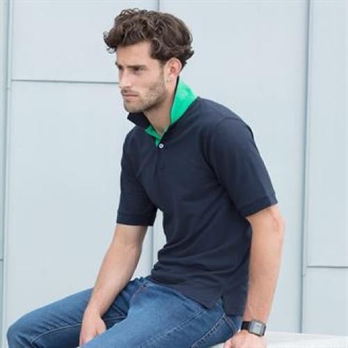 Contrast 65/35 Piqué Polo Shirt