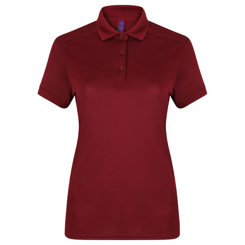 Women'S Stretch Polo Shirt With Wicking Finish