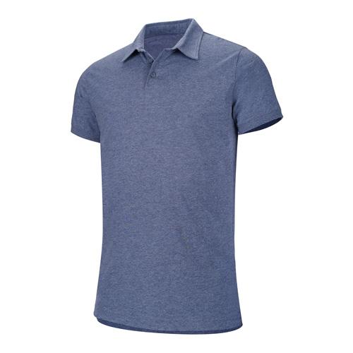 Melange Short Sleeve Polo Shirt