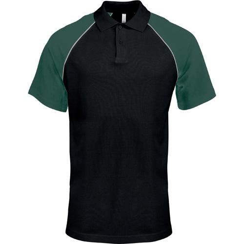Polo Base Ball Contrast Polo Shirt